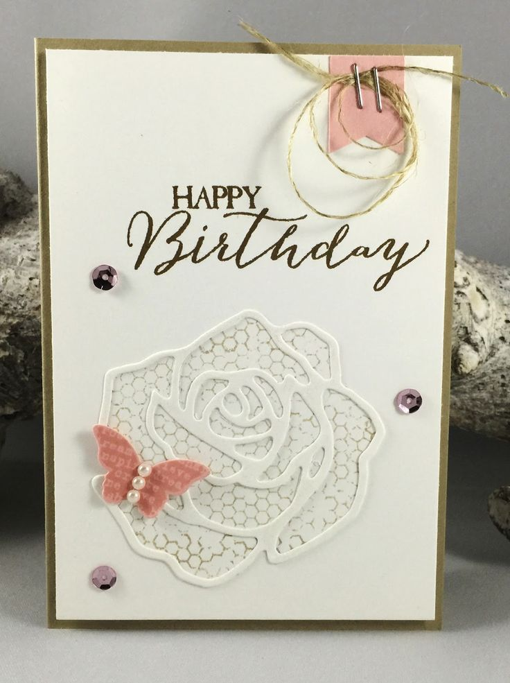 Caring for Stamps: Stampin' Up! Rose Garden Thinlits