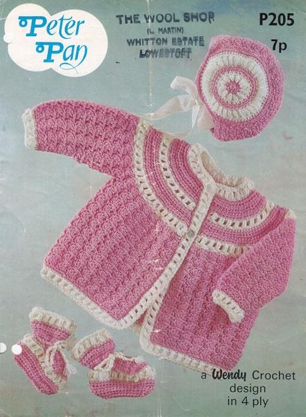 vintage crochet baby patterns