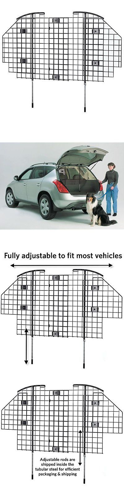 Car Seats and Barriers 46454: Midwest Beds And Equipment Pet Dog Car Barrier Guard Automotive Safety Protect Suv -> BUY IT NOW ONLY: $68.45 on eBay!