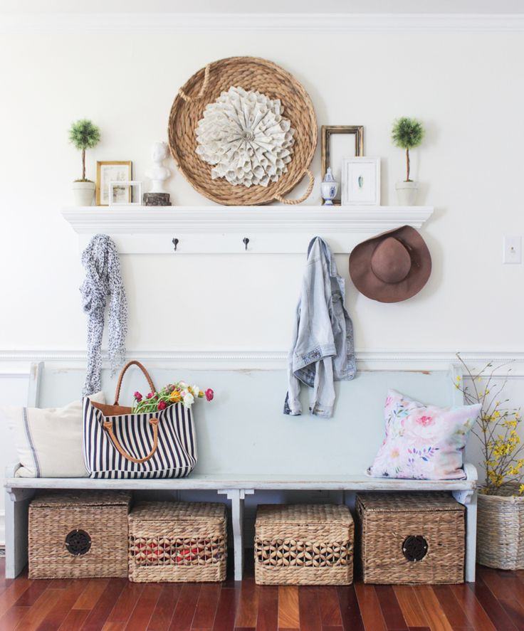 Luxury Entry Bench and Hooks