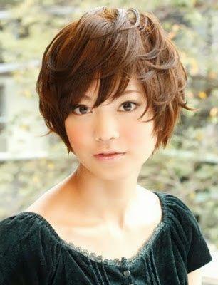 coupe courte femme japonaise