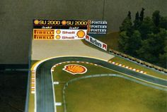 Custom Ho Slot Car Track