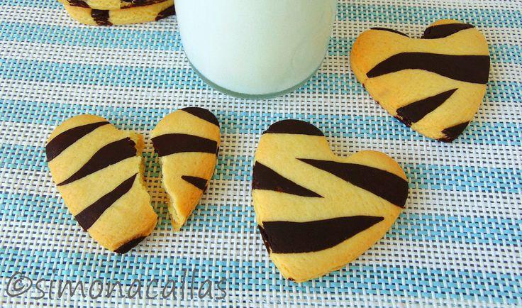 Frusecuri de post biscuiti zebra