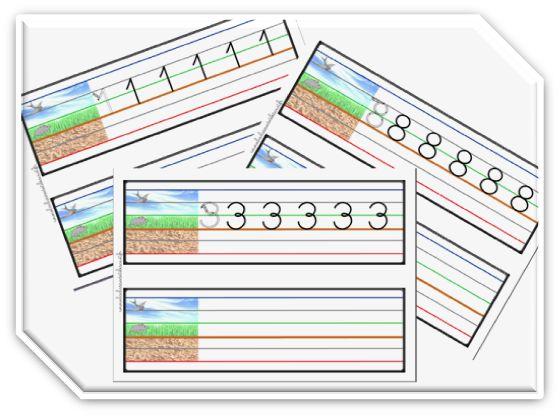 Très 182 best ecriture chiffres et lettres images on Pinterest  AR52