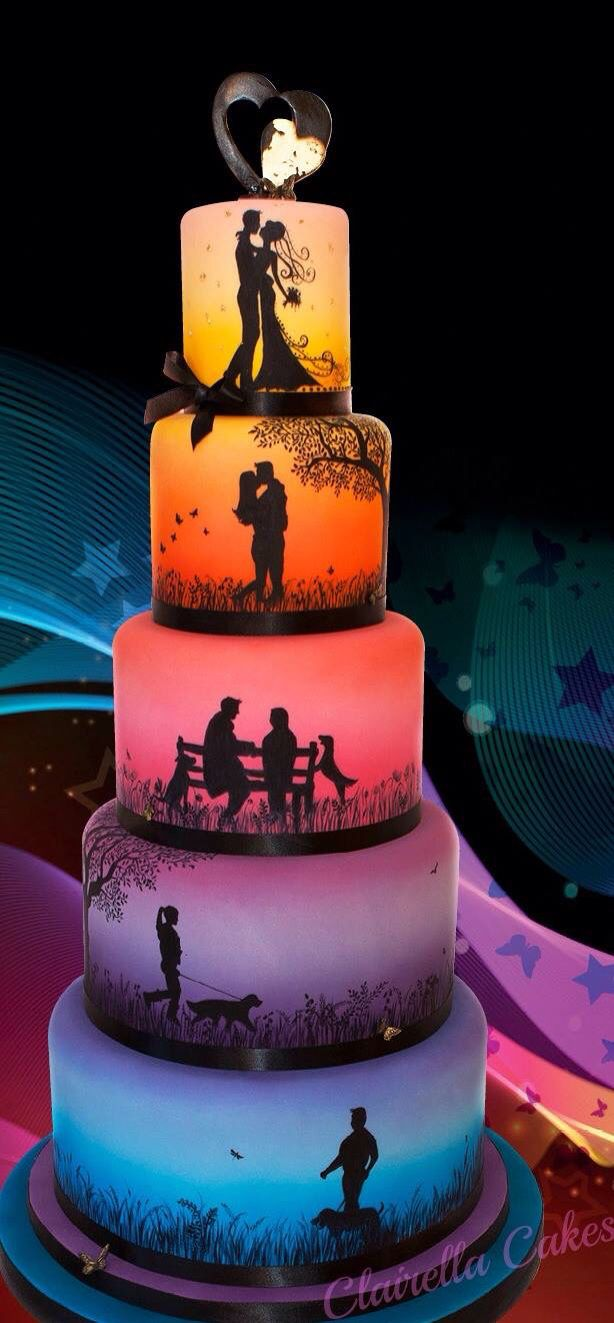 amazing wedding cake best 25 rainbow wedding cakes ideas on 10700