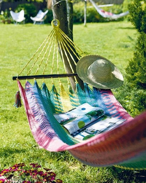 Lazy summer days <3 so shoul have invested in the hand made mayan hammocks at terrapin