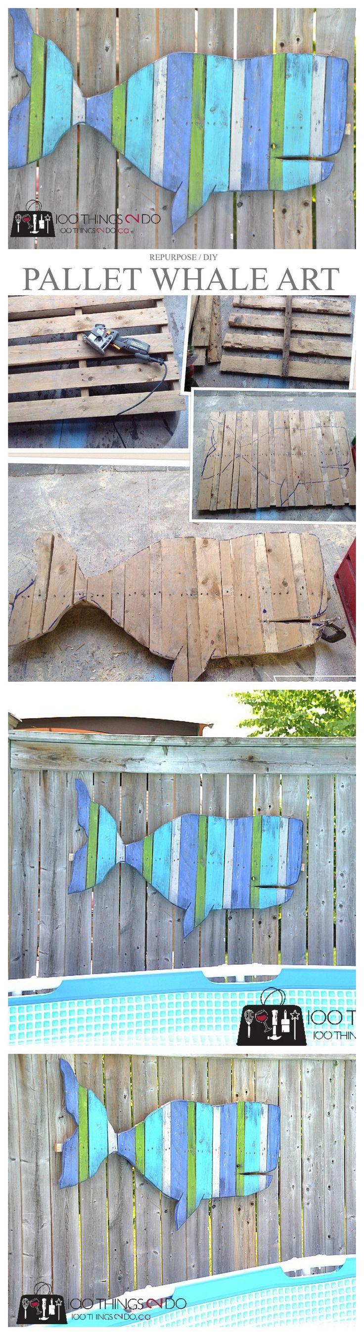 Best 25 fences free ideas on pinterest vertical planter rail pallet projects fence art whale more baanklon Choice Image