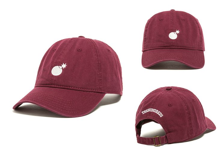 "Available Now :: ""Solid Bomb"" and ""Rose"" Dad Hats 