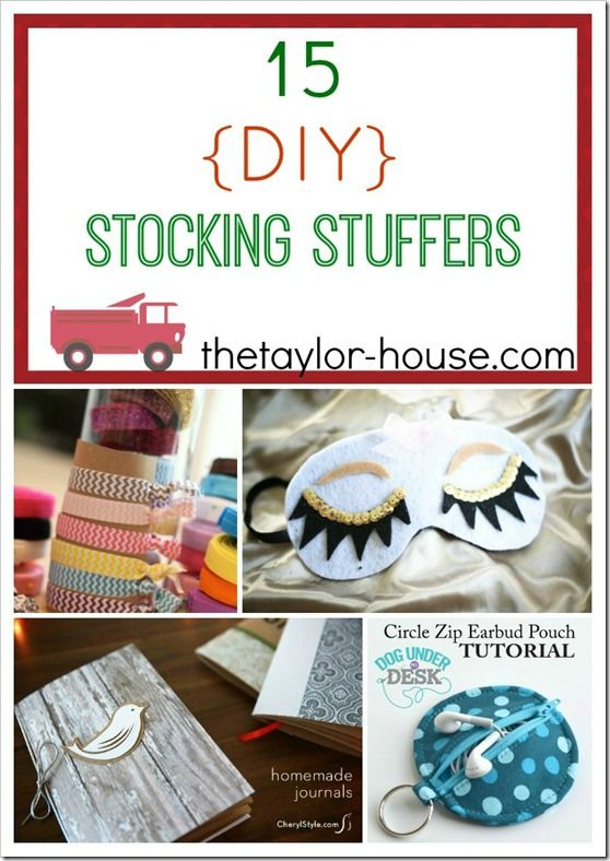 15 Diy Stocking Stuffer Ideas Christmas Gifts For Kids
