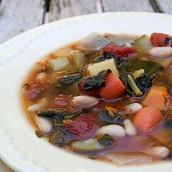 Winter Minestrone | WHAT LOVE TASTES LIKE | Pinterest | Winter and ...