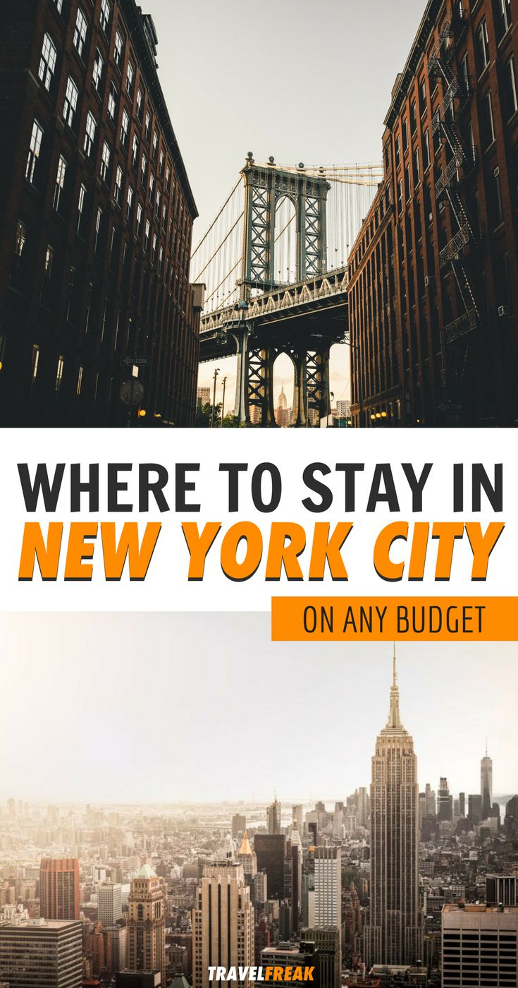 New York City is an amazing destination, but you gotta know where to stay! Working out where to stay in New York is somewhat challenging, so click for a list of the 12 best hotels and hostels for every budget. | where to stay in New York city hotels | where to stay in New York City cheap | New York City best hotels | hotels in nyc best | hotels in nyc affordable | hotels in nyc under 200 #newyorkcity - via @travelfreak_
