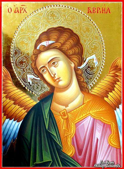 Archangel Gabriel icon.