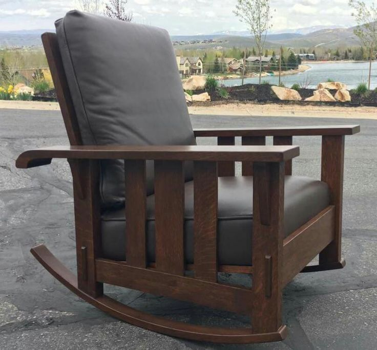Stickley Brothers | Rocker | Arts And Crafts | Craftsman Bungalow