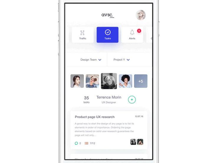 UI Interactions of the week #35 – Muzli -Design Inspiration