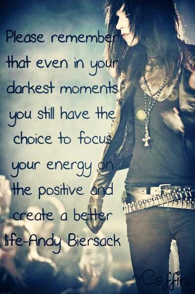 Kellin Quinn And Vic Fuentes Andy Biersack Quotes. ...