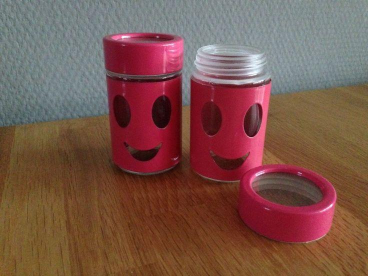 smile potje roze met draai dop prijs per 5 st