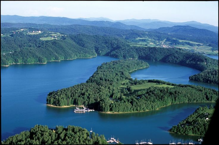 Solina lake