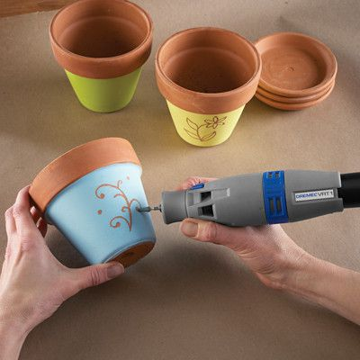 The Dremel VRT1 is a vacuum powered rotary tool. You can now use your wet/dry vac to power your Dremel tool.  Suction of the vacuum powers the rotary tool Thi