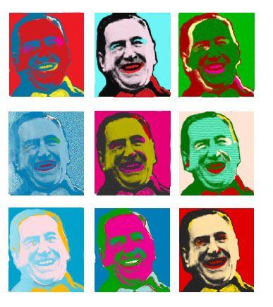 Perón pop art