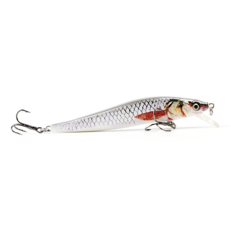 5 Color 9cm/6.5g Popular Minnow Fishing Lure Top Quality Fishing Bait 3D Eyes Crankbait Dynamic Fish Wobbler Tackle Pesca HML09B