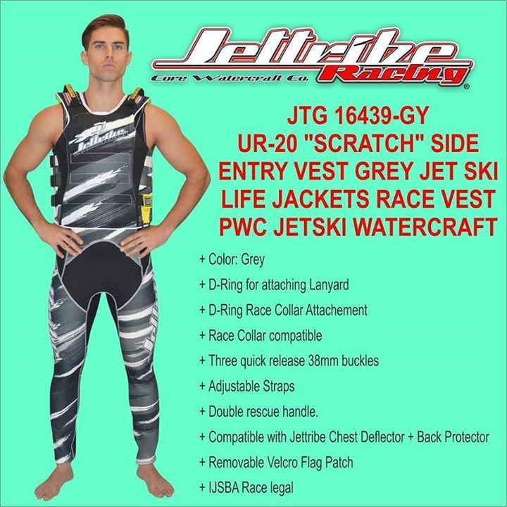 Please visit www.jettribe.com to see more information regarding this product. JTG 16439-GY UR-20 SCRATCH SIDE ENTRY RACE VEST #jet ski goggles # helmet jet ski #jet ski apparel # jet ski clothes #jet ski clothing # jet ski cover kawasaki #jet ski cover sea doo #jet ski equipment #jet ski covers Yamaha #jet ski gear #jet ski helmets #jet ski life vest #jet ski pdf #jet ski shoes #jet ski wetsuits #jet ski covers #kawasaki jet ski covers #jet ski cover #kawasaki pwc cover #pwc apparel #pwc…