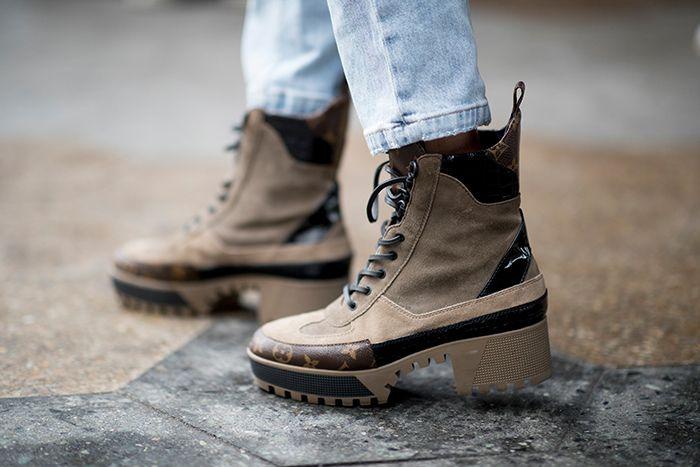trendy walking boots