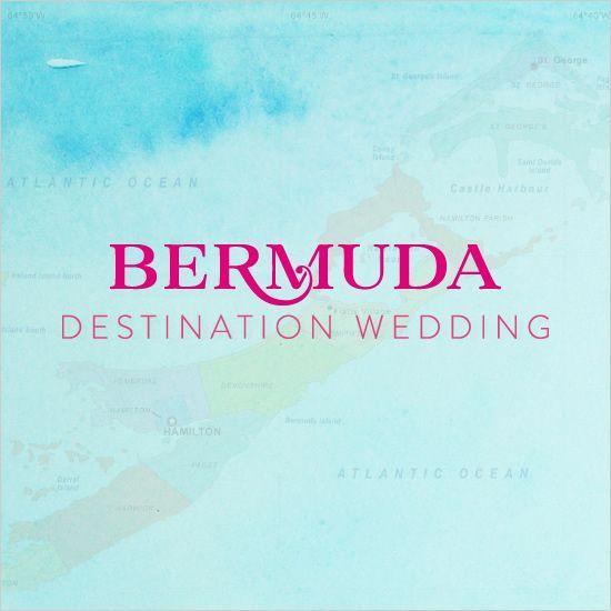 Bermuda destination wedding