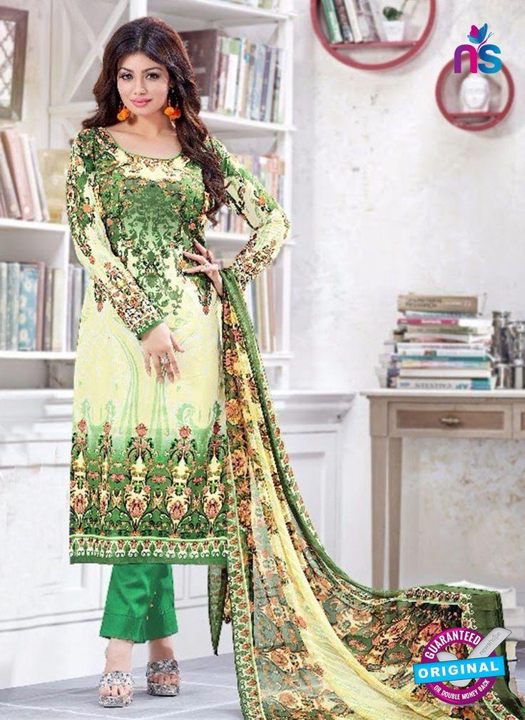 SC 13220 Yellow and Green Silk Crape Straight Suit #pakistanisalwarsuitsonine #pakistanisuitsonline #pakistanisalwarsuitsonlineshopping #pakistanisuitsonlineindia #BuyDesignerPakistaniSuits