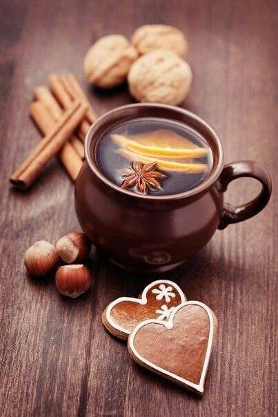 Чай, пряности, керамика, Посуда, декор стола, пряники, уют