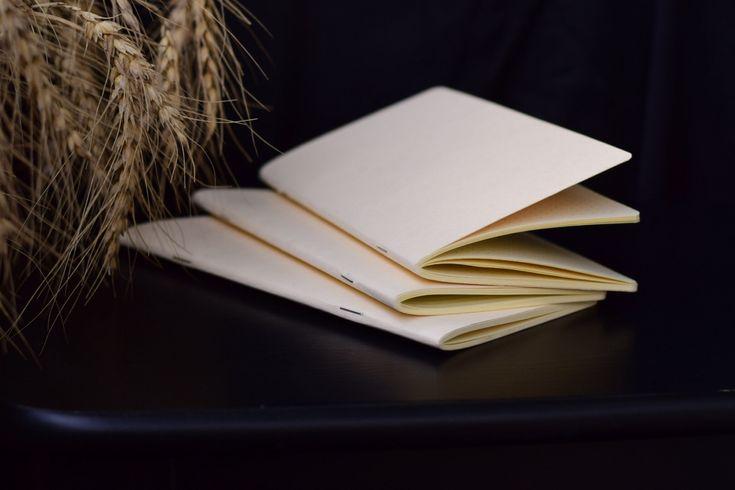 Тетради для блокнотов Traveler`s. Бежевая бумага