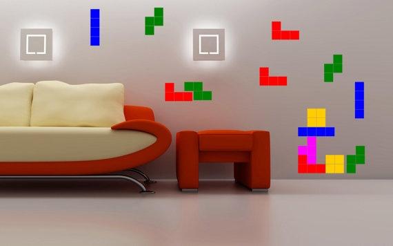 Adesivi Tetris di Tmaniashop su Etsy, €20,00