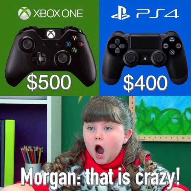 Morgan On Kids React To XBoxOne VS PlayStation 4 Kids