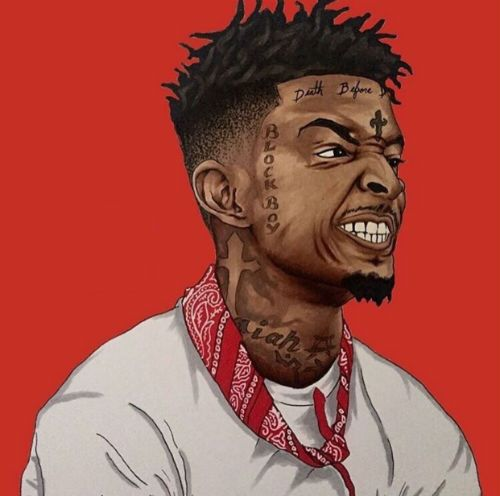 21 Savage Type Beats Cartoon