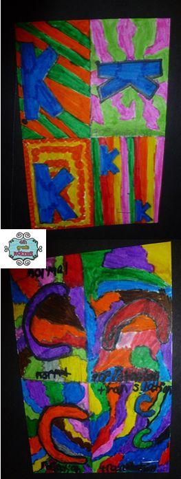 4th Grade Frolics, fun Math activity teaching translations, reflections, and rotations.