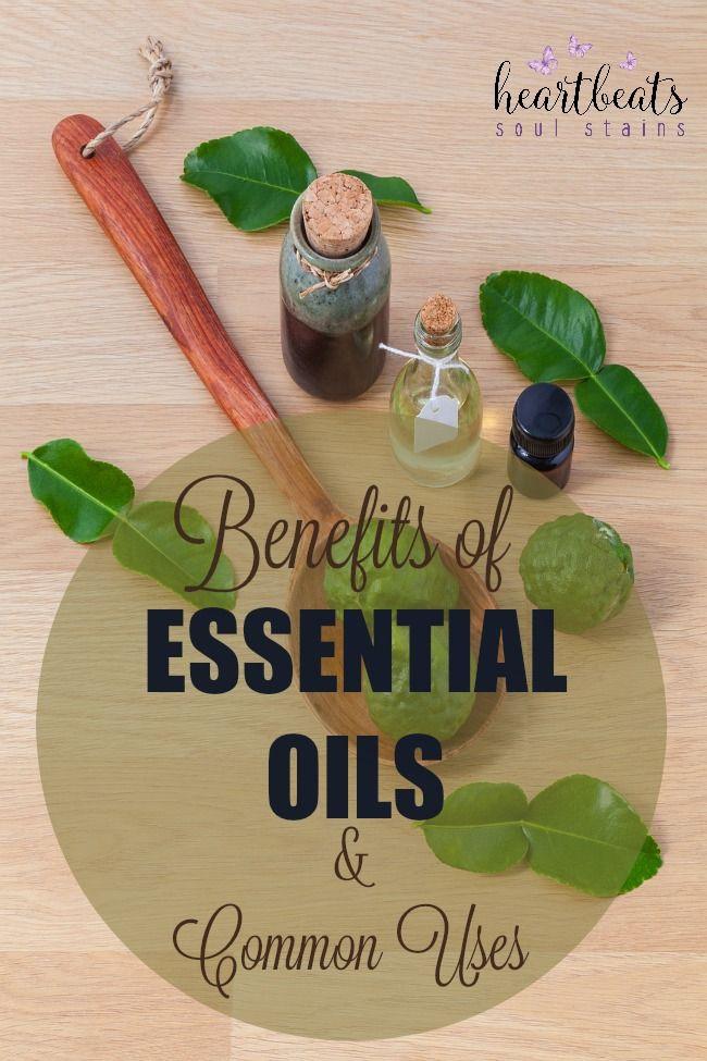 Essential Oils Benefits and Common Uses #essentialoils - Heartbeats ~ Soul Stains https://goo.gl/b0n2Ki
