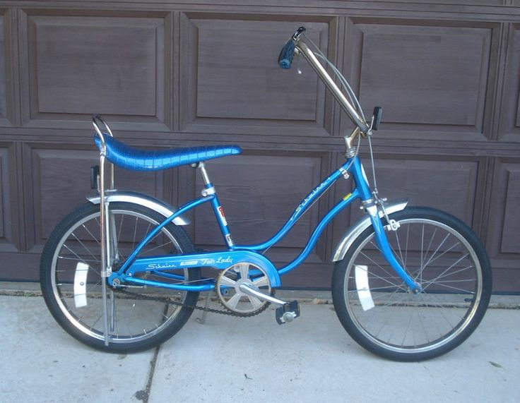 Spent many hours riding a bike like this. Was better with a friend riding behind on the seat. Had to keep your feet out of the spokes if you were the rider! My Dad and I worked on this bike.. from the frame to adding butterfly handle bars to the blue sparkle banana seat... time with my dad ... priceless...
