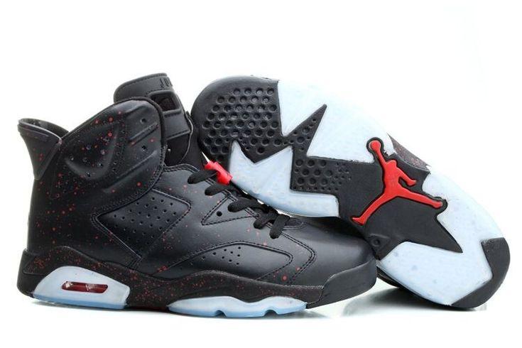 Perfect Air Jordan 6 Black Man