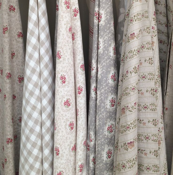 A selection of Inchyra Aged and Woven linens.