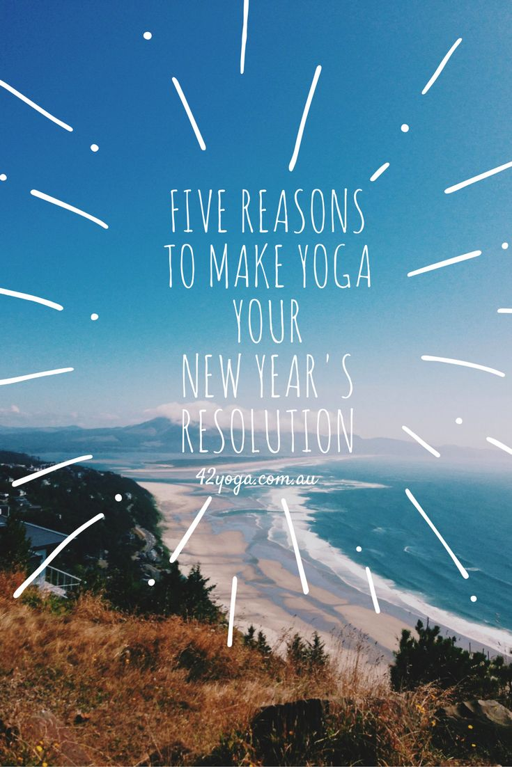 When it comes to the start of the new year, making yoga a new year's resolution is a good move. These are the reasons why… 1. Creating a healthy new habit Start the year off how you wish to continue. Research suggests it takes 21 days to form a new habit. Spend the first 21 … Continue reading Five Reasons to Make Yoga Your New Year's Resolution →