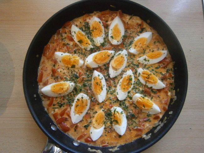 Eier-Gemüse-Ragout
