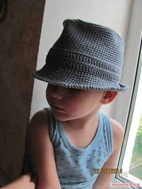 Шляпа федора для юного ганстера