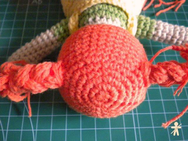 Tutorial: Las trenzas de Pippi paso a paso · Tutorial: Pippi's braids step by step