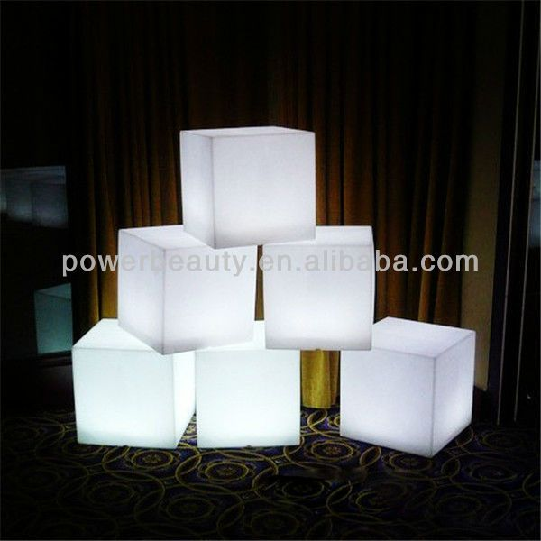 led cube chair/modern led cube /light led cube furniture