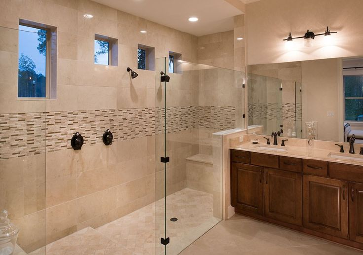 A master suite bathroom by calatlantic homes that could for Award winning master bathrooms