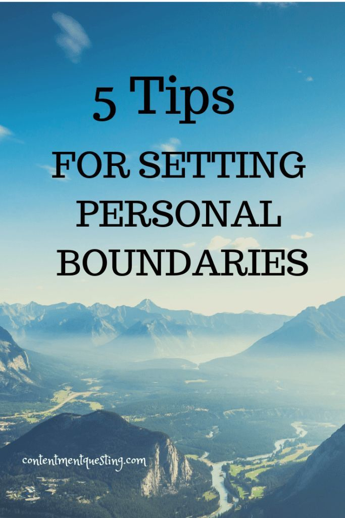 5 Tips on setting personal boundaries for your emotional and mental wellbeing an…