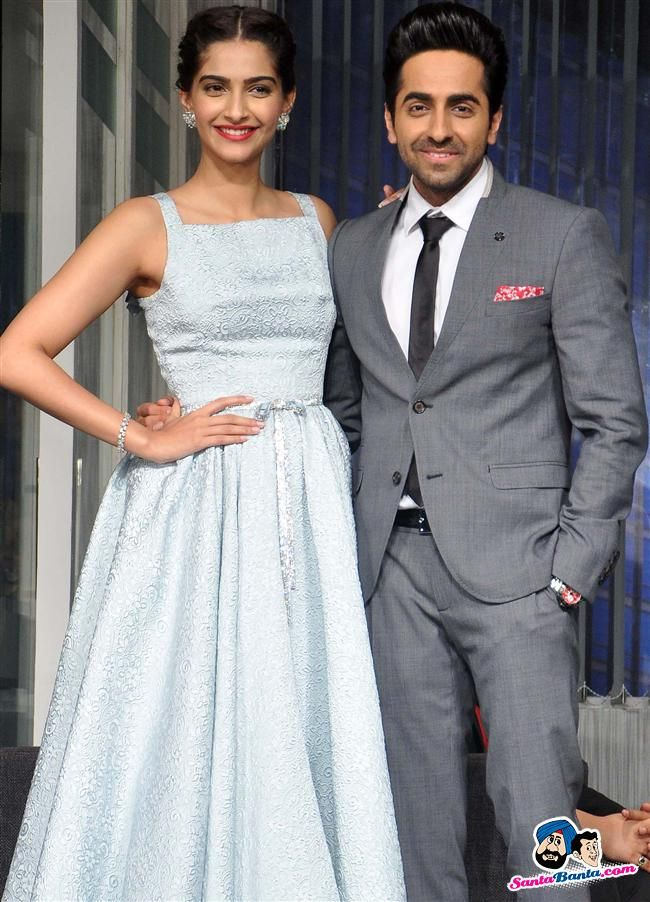 Promotion of Movie Bewakoofiyaan -- Sonam Kapoor and Ayushmann Khurrana Picture # 256650