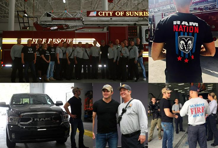 Learn more about how University Dodge teamed up with Ram Nation and Easton Corbin by giving thanks to our local fire fighters, and how you can become a part of the Ram Nation to give back in your own way. #EastonCorbin #CountryMusic #Country #Ram #RamTrucks #Trucks