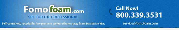 Foam Insulation Kits by Fomo Foam Spray Foam