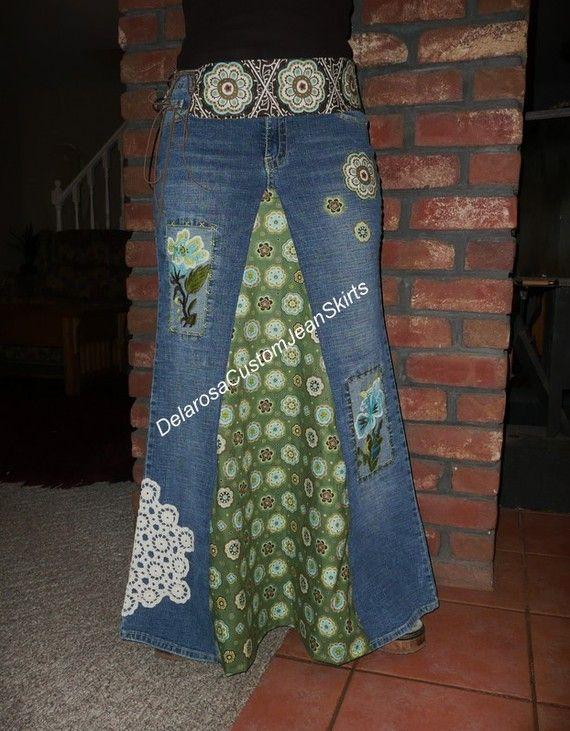 Custom reserved listing for Rhonda Classic by CustomJeanSkirts