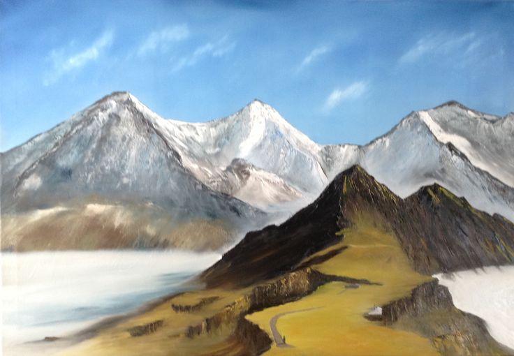 Eiger, Mönch und Jungfrau Blick vom Männlichen